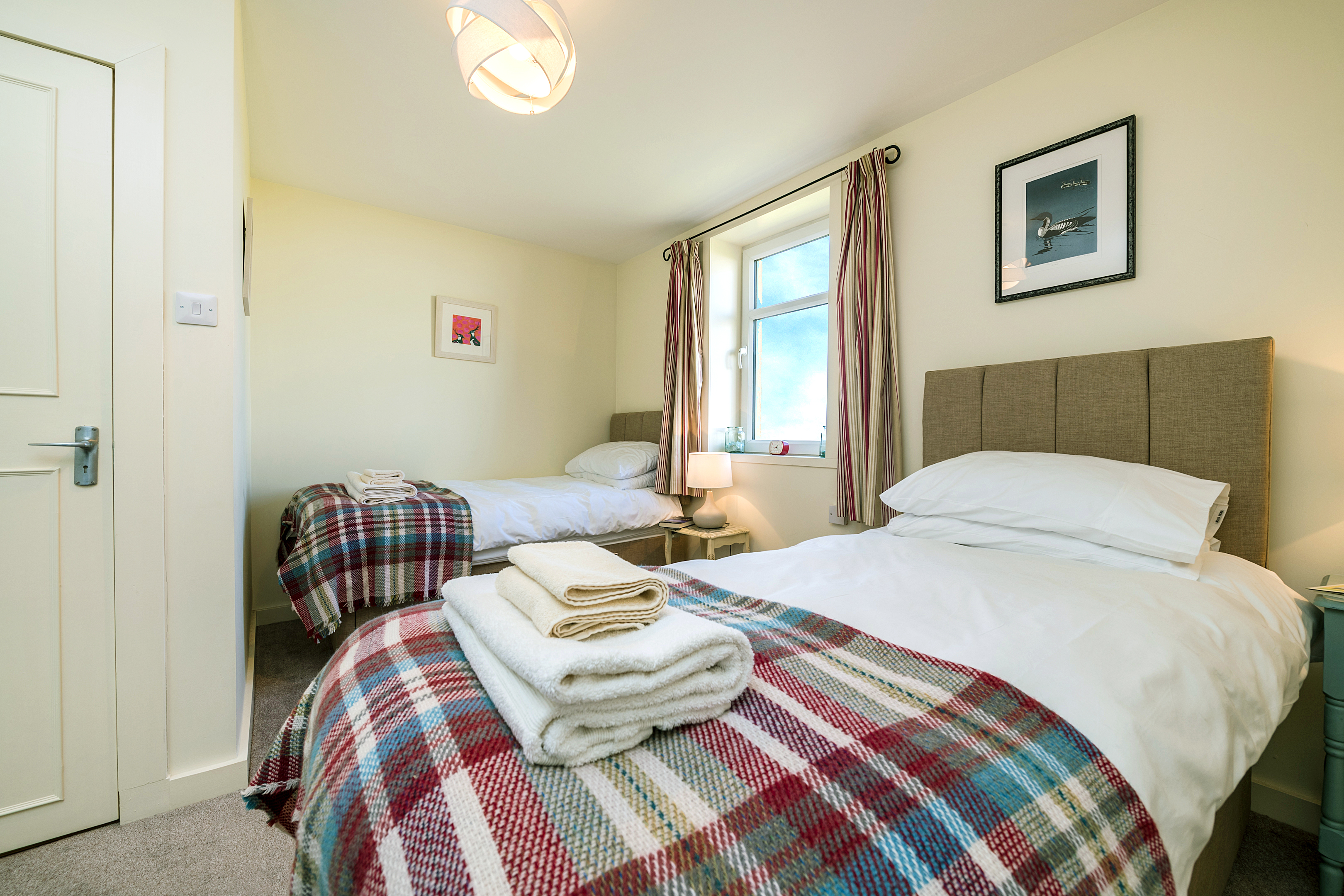 Three comfortable bedrooms